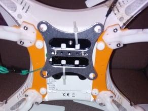 CX-20 f450 landing gear adapter