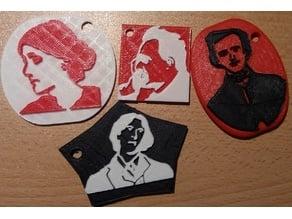 Woolf, Nietzsche, Poe, Wilde