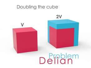 Customizable - Delian problem - Doubling the cube