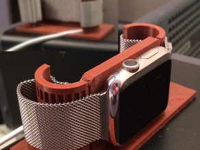 Apple Watch alarm stand