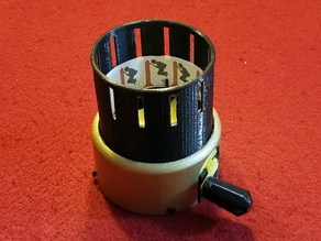 Manual GIF Display Unit (Zoetrope)