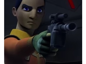 DL-44 Ezra Bridger's Heavy Blaster (SW, Rebels)