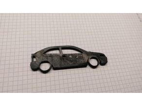Opel Vauxhall Astra G CC Key Chain