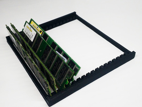Memory bank storage (w/ mov) for DDR, DDR2 & DDR3