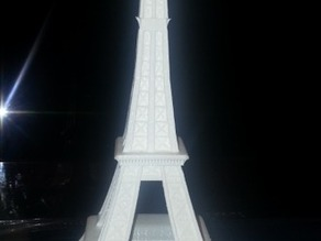 Eiffel Tower modified without hard to print details