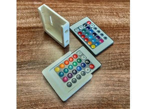 LED IR remote controller holder