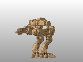 MWO Style Cougar Battletech boardgame miniature (Outdated)