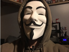 Anonymous Mask - REPAIRED!