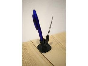Pinzette-Kugelschreiber_Halter