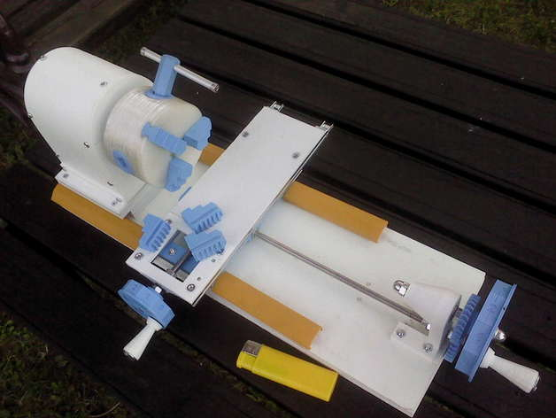 Mini d printed lathe by branez thingiverse