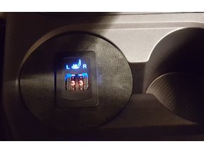 MMSHCMfC (Mitsubishi Mirage Seat Heater Control Mount for Cupholder)