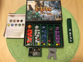 Tiny Epic Kingdoms Game Box Organizer