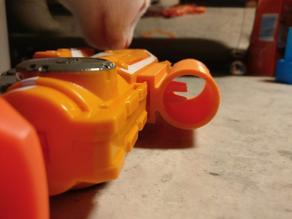 Iron sight for Nerf Firestrike Elite gun