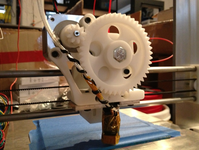Greg's Wade Extruder Prusa I3 for 1.75mm filament by ...
