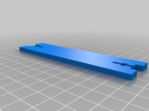 Anet A8 filiment spool holder replacement foot brackets