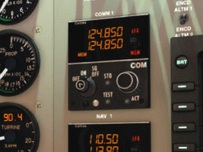 Com / Nav instrument Collins - Beechcraft B200