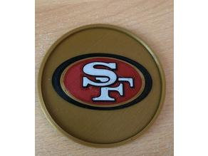 San Francisco 49ers Multi Material coaster