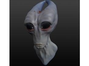 Mass Effect Salarian Sculpt
