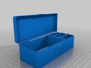 Customizable hinged box Nx1