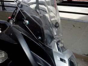 Windshield mount for kawasaki versys 650cc 2011
