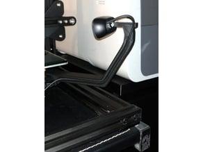 CR-10 webcam mount Logitech C270 (LONGER ARM)