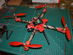 Quad Copter APM with modular system