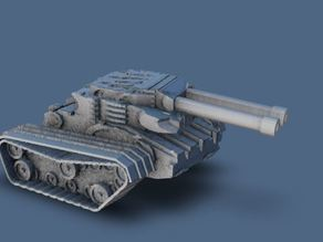 Procedural Miniature Game Tank - All Random
