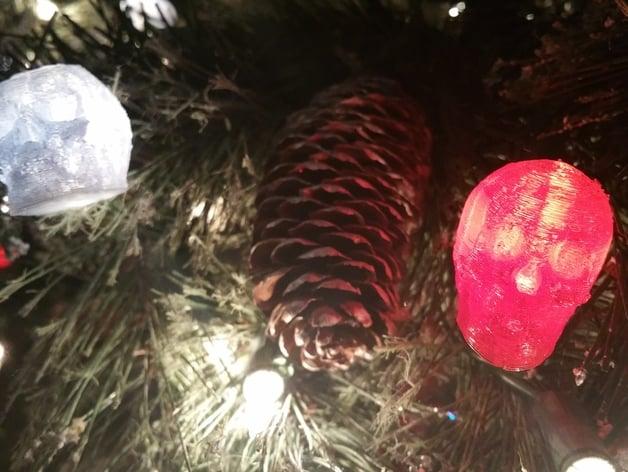 Christmas Lights & Tree Lights Skull bulb covers. by stewartde Dec 13,  2015. Thingiview - Christmas Lights & Tree Lights Skull Bulb Covers By Stewartde