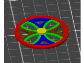 MultiMaterial Motor Visualizer