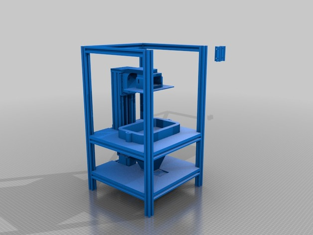 LCD 3D Printer 800x480 by mioduk - Thingiverse