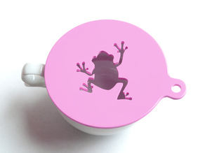 Coffee Stencils Latte Art Template - Frog & Rose
