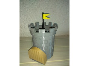 Medieval Dice Tower Flag [Remix]