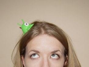 Brain Slug Hair Clip