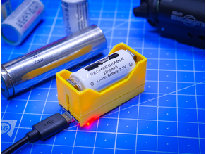 Small 16340 Battery charger DIY