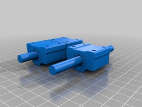 Anet A8 X Axis Mock Up