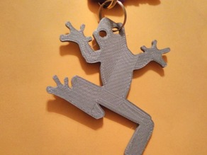 Frog Keychain Accessory