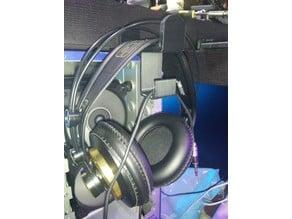 Headphone underdesk screw mount (heavy duty)