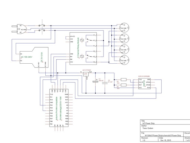 iot power strip by devlab thingiverse rh thingiverse com