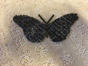 Articulated Chain Mail Butterfly (Remix)