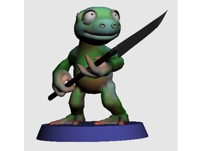 28MM SWAMPY FROGO WITH SPEAR