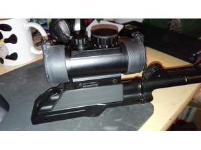 Airsoft AK rail adapter