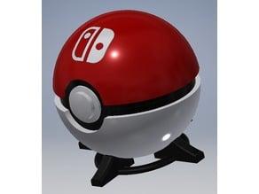 Nintendo Switch Pokéball Cart Holder