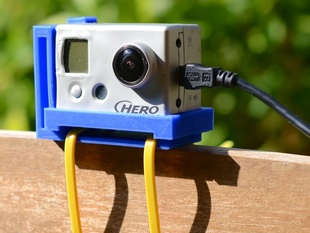 Simple Gopro Hero 2 Camera Mount