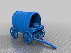 Pioneer Wagon in parts 1-32 scale