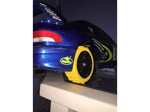 Rally tyre for RC car 1/10