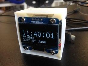 Small Cube Clock