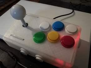 Arcade Joystick USB 8+2 buttons