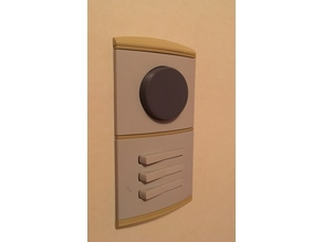 Dimmer knob for the Senso-series