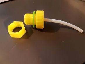 IKEA SAMLA dry box filament storage: bolt + nut + gasket