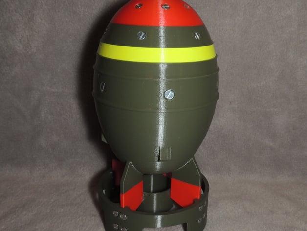 fallout 4 mini nuke storage box by starscream83 thingiverse